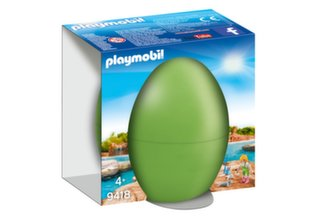 9418 PLAYMOBIL® Easter Egg, Зоолог с тюленями
