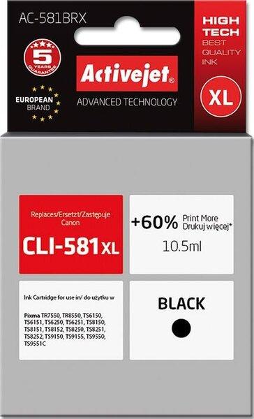 Kasetė spausdintuvams Active Jet AC-581BRX, juoda
