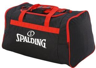 Sportinis krepšys Spalding, M, juodas/raudonas kaina ir informacija | Sportinis krepšys Spalding, M, juodas/raudonas | pigu.lt