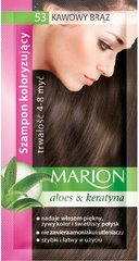 Dažomasis plaukų šampūnas Marion, 40 ml, 53 Coffee Bronze