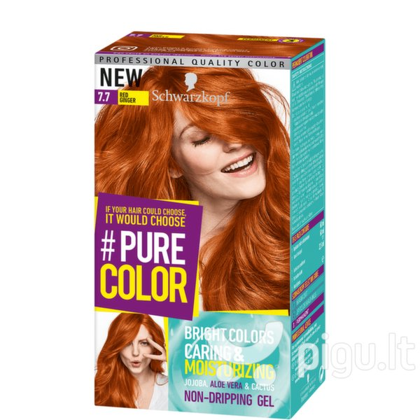 краска для волос Schwarzkopf Vopsea De Par Pure Color 77 Bright
