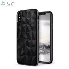 Blun BL-PRI-SGS10PL-BK, skirtas Samsung S10+, juodas kaina ir informacija | Telefono dėklai | pigu.lt