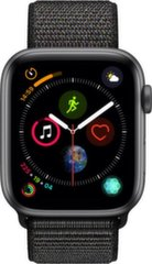 Apple Watch S4, 40 mm, Juoda