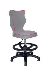Ergonomiška vaikiška kėdė Petit AB3, pilka/raudona kaina ir informacija | Biuro kėdės | pigu.lt