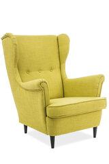 Fotelis Lord, šviesiai geltonas