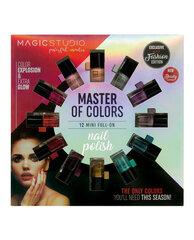 Nagų lakų rinkinys IDC Color Magic Studio Circle Nail Polishes 12 vnt. kaina ir informacija | Nagų lakai, stiprintojai | pigu.lt