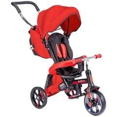 Triratukas Yvolution Strolly Bike 4in1, raudonas, 100834