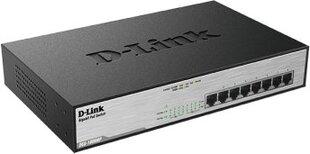 Maršrutizatorius D-Link DGS-1008MP kaina ir informacija | Maršrutizatorius D-Link DGS-1008MP | pigu.lt
