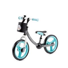 Balansinis dviratukas su aksesuarais KinderKraft 2Way Next, mėlynas