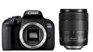 Canon EOS 800D 18-135 IS USM kaina ir informacija | Skaitmeniniai fotoaparatai | pigu.lt