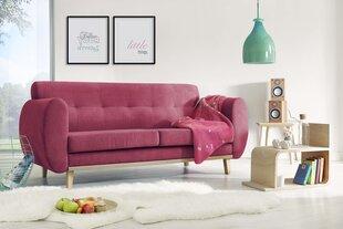 Trivietė sofa BoboChic Viking, raudona