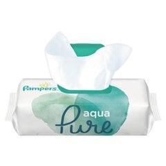 Drėgnos servetėlės PAMPERS Aqua Pure, 48 vnt. kaina ir informacija | Drėgnos servetėlės, paklotai | pigu.lt