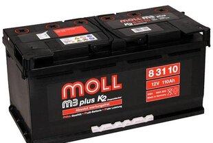 Akumuliatorius MOLL M3 plus 110Ah 900A