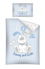 Vaikiškas patalynės komplektas Puppy, 2 dalių kaina ir informacija | Patalynė kūdikiams, vaikams | pigu.lt
