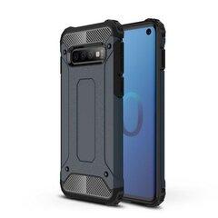 Hybrid Armor Case Tough Rugged, skirtas Samsung Galaxy S10, mėlynas kaina ir informacija | Telefono dėklai | pigu.lt