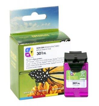 Rašalo kasetė No.301 XL Color (CH564EE) SC Analogs spalvota kaina ir informacija | Kasetės rašaliniams spausdintuvams | pigu.lt