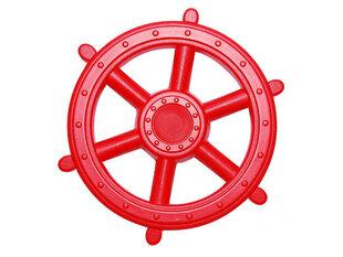 Pirato laivo vairas 41 cm (raudonas) 4IQ