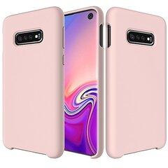 Soft Flexible Rubber, skirtas Samsung Galaxy S10, rožinis kaina ir informacija | Telefono dėklai | pigu.lt
