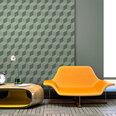 Fototapetas - Monochromatic cubes kaina ir informacija | Fototapetai | pigu.lt