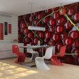 Fototapetas - Redcurrants bathed in water kaina ir informacija | Fototapetai | pigu.lt