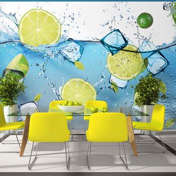 Fototapetas - Refreshing lemonade kaina ir informacija | Fototapetai | pigu.lt