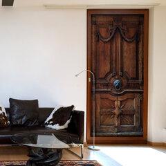 Durų fototapetas - Luxury Door kaina ir informacija | Fototapetai | pigu.lt