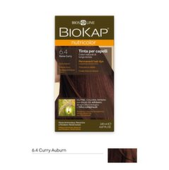 Plaukų dažai Biokap Nutricolor Nr. 6.40 Copper Curry Dye 140 ml