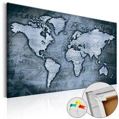 Kamštinis paveikslas - Sapphire World [Cork Map] kaina ir informacija | Reprodukcijos, paveikslai | pigu.lt