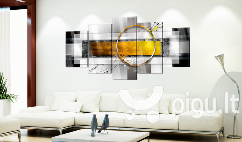 Akrilo stiklo paveikslas - Golden Shot [Glass] kaina