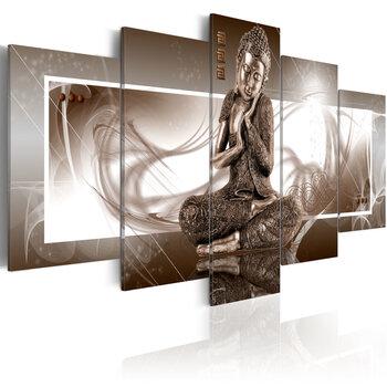 Paveikslas - Musing Buddha kaina ir informacija | Reprodukcijos, paveikslai | pigu.lt