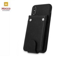 Mocco Smart Wallet Eco Leather Case - Card Holder For Samsung J415 Galaxy J4 Plus (2018) Black kaina ir informacija | Telefono dėklai | pigu.lt