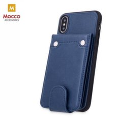 Mocco Smart Wallet Eco Leather Case - Card Holder For Samsung J415 Galaxy J4 Plus (2018) Blue kaina ir informacija | Telefono dėklai | pigu.lt