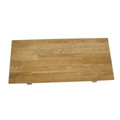 Papildomas stalviršis išskleidžiamam stalui Turbo, rudas