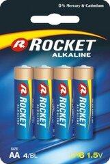 Rocket Alkaline AA elementas, 4 vnt. kaina ir informacija   Rocket Alkaline AA elementas, 4 vnt.   pigu.lt