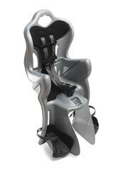 Galinė dviračio kėdutė Bellelli B-One standart, sidabro spalvos kaina ir informacija | Dviračių kėdutės vaikams | pigu.lt