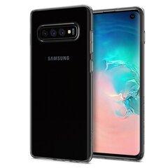 Spigen Liquid Crystal, skirtas Samsung Galaxy S10, skaidrus kaina ir informacija | Telefono dėklai | pigu.lt