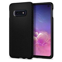 Spigen Liquid Air, skirtas Galaxy S10e, juodas kaina ir informacija | Telefono dėklai | pigu.lt