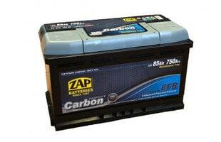 Аккумулятор ZAP Carbon EFB 85Ah 750A