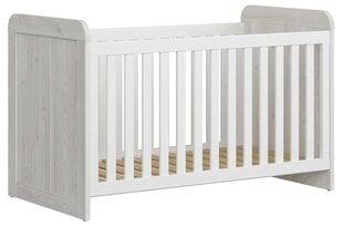 Lovytė Luca Baby, 70x140 cm, pilka kaina ir informacija | Kūdikių lovytės | pigu.lt