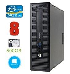 HP 800 G1 SFF I5-4570 8GB 500GB DVD WIN10Pro kaina ir informacija | HP 800 G1 SFF I5-4570 8GB 500GB DVD WIN10Pro | pigu.lt