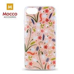 Mocco Spring Case Silicone Back Case for Samsung G960 Galaxy S9 Pink ( White Snowdrop ) kaina ir informacija | Telefono dėklai | pigu.lt