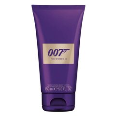 Kūno losjonas James Bond 007 For Woman III moterims 150 ml kaina ir informacija | Kūno losjonas James Bond 007 For Woman III moterims 150 ml | pigu.lt