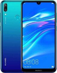 Huawei Y7 2019, Dual SIM 3/32 GB, Aurora Blue kaina ir informacija | Mobilieji telefonai | pigu.lt