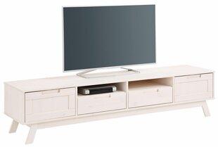 TV staliukas Olly 2, baltas kaina ir informacija | TV staliukai | pigu.lt