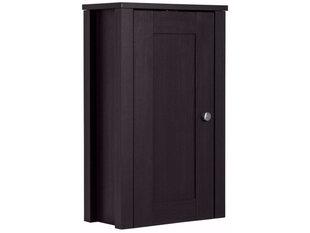 Pakabinama vonios spintelė Johnson, tamsiai ruda kaina ir informacija | Pakabinama vonios spintelė Johnson, tamsiai ruda | pigu.lt