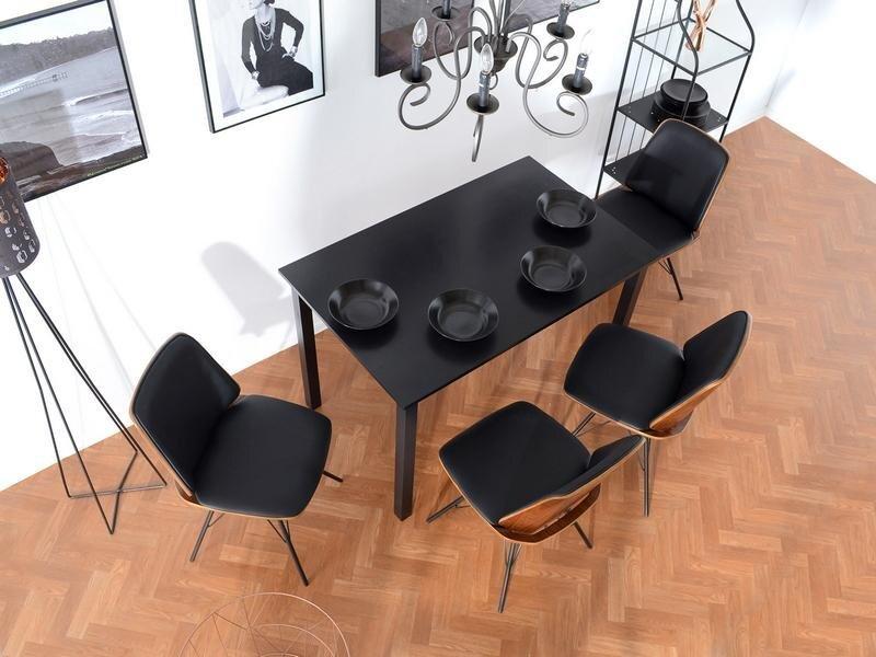 Kėdė Mantis, ruda/juoda