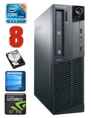 Lenovo ThinkCentre M82 SFF i3-3220 8GB 500GB GT710 2GB DVD WIN10Pro