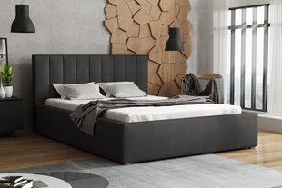 Lova Rinus, 160x200 cm, pilka kaina ir informacija | Lovos | pigu.lt