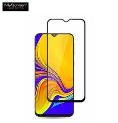 LCD apsauginis stikliukas MyScreen Diamond Edge Full Glue Samsung A505 A50/A507 A50s/A307 A30s / A305 A30 juodas kaina ir informacija | Telefono dėklai | pigu.lt