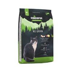 Chicopee jautrioms katėms, be grūdis su paukštiena No Grain, 8 kg